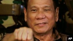 菲律宾总统杜特尔特