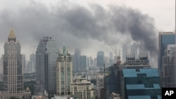 Smoke billows across Bangkok skyline [file photo]