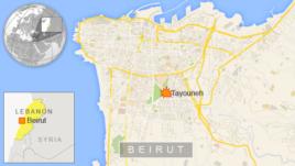 Car bomb in Beirut, Lebanon