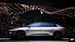 法拉第未來電動車將在加州設廠生產