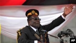 Tổng thống Robert Mugabe.