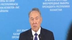 哈薩克斯坦總統納扎爾巴耶夫當選連任