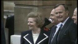 ທັດສະນະຂອງ ຜູ້ນໍາໂລກ ຕໍ່ທ່ານນາງ Thatcher