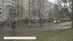 Понад 400 затриманих на недільних протестах у Білорусі. Відео