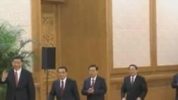 中国新领导人庆国庆 香港活动人士抗议