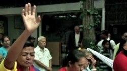 委內瑞拉人民關注查韋斯健康狀況