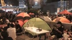 香港集會不滿政府擱置與學生對話