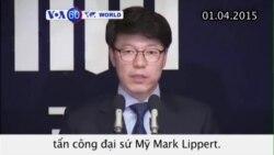 Hàn Quốc cáo buộc kẻ tấn công đại sứ Mỹ tội mưu sát (VOA60)