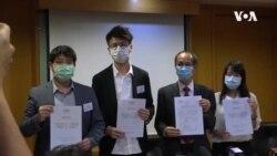 香港民主黨宣布聯絡有公信力機構進行民調並依據果決定去留
