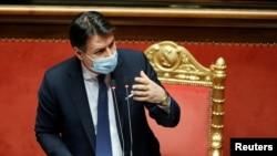 Perdana Menteri Italia Giuseppe Conte mengundurkan diri hari Selasa (26/1) (foto: dok).