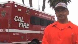 Пожары в Калифорнии тушат заключенные штата