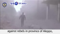 VOA60 World - Syria: Aleppo Offensive Underway