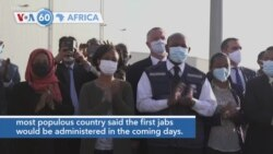 VOA60 Afrikaa - Ethiopia receives its first 2.2 million doses of COVID-19 vaccine