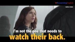 Học tiếng Anh qua phim ảnh: Watch Their Back - Phim Captain America: Civil War (VOA)
