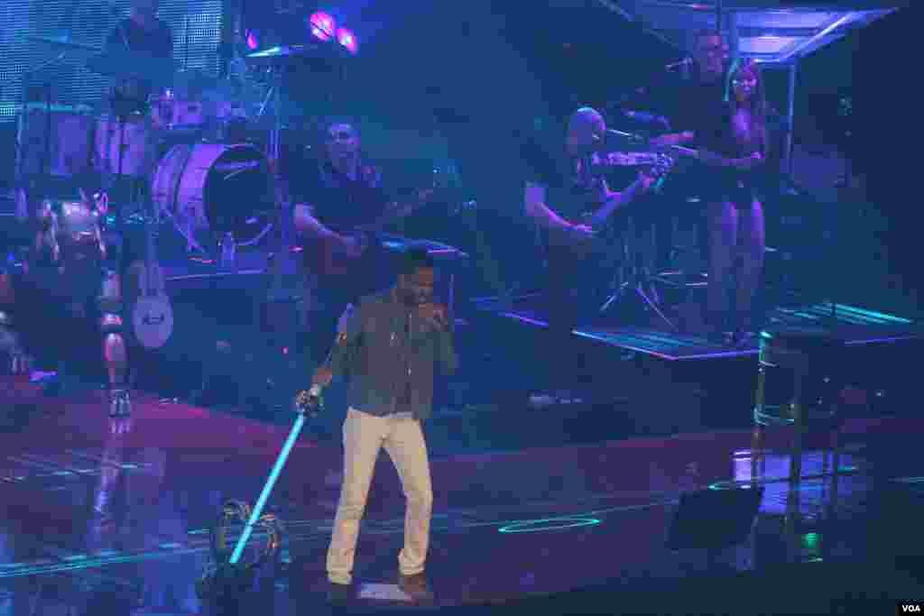 Romeo Santos se presentó en Virginia la noche del miércoles 11 de junio como parte de su gira por EE.UU.