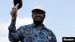 Raila Odinga, umunyepolitike atavuga rumwe n'ubutegetsi muri Kenya