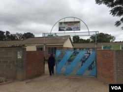 Njube High School in Bulawayo ...