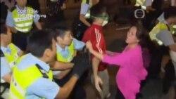 Indignación por golpiza en Hong Kong