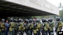 An ninh được siết chặt chuẩn bị cho hội nghị APEC tại Manila, Philippines, ngày 14/11/2015.