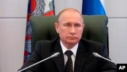 俄羅斯邀請南北韓領導人同時訪俄﹐圖為俄羅斯總統普京12月19日資料照。