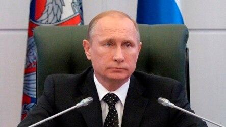 ປ. Vladimir Putin ພົບປະກັບ ບັນດາເຈົ້າໜ້າທີ່ທະຫານຂັ້ນສູງ ຢູ່ກະຊວງປ້ອງກັນປະເທດ ທີ່ມົສກູ, ວັນທີ  19 ທັນວາ 2014.