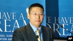 杨建利博士今年9月出席反歧视和迫害全球峰会