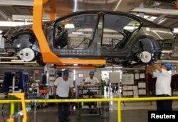 Industri otomotif berpotensi terkena dampak tarif AS.