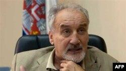 Srpski tužilac za ratne zločine Vladimir Vukčević (arhivski snimak)