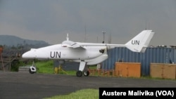 Un drone de la Monusco (Austere Malivika, VOA)