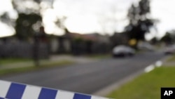 Police tape is seen at the perimeter near a house in the suburb of Glenroy in Melbourne, which was raided in 2009 in connection to planned terror attacks. Three men were convicted in December 2010 for plotting the attack.