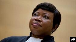 La procureure de la CPI Fatou Bensouda, le 29 septembre 2015. (AP Photo/Peter Dejong, Pool)