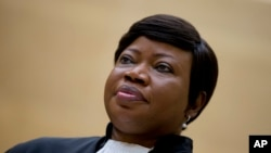 La procureure de la CPI Fatou Bensouda, le 29 septembre 2015. (AP Photo/Peter Dejong, Pool)