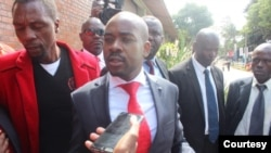 Nelson Chamisa and his MDC colleagues ...