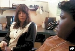Mariah Carey in scene from Precious: Based on the Novel 'Push' By Sapphire