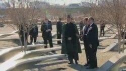 奥巴马会晤阿富汗总统卡尔扎伊
