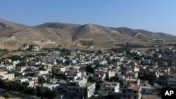 Desa Ras Baalbek, Lebanon, dekat perbatasan dengan Suriah (Foto: dok).