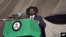 南苏丹总统基尔。