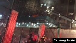 3 bomberos están entre los heridos que fueron trasladados a un hospital cercano. Foto Departamento de Bomberos de NY.