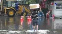 İstanbul'da Sel Manzaraları