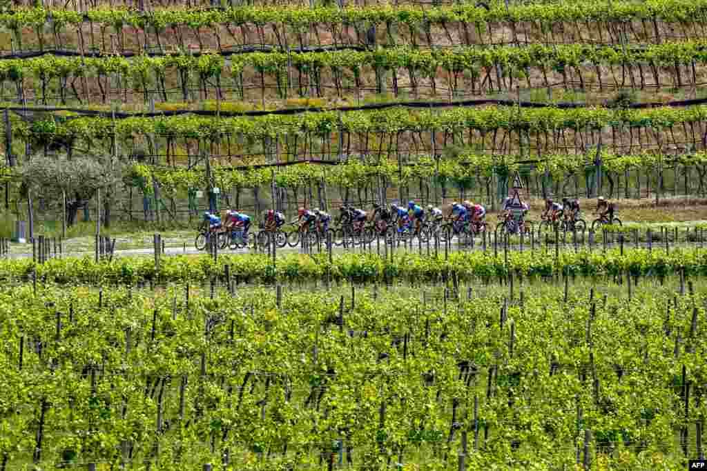 مسابقات بایسکلسواری در ایتالیا