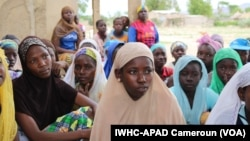 Young girls in Maroua, Cameroun, potential victims of forced mariage (Photo APAD-IWHC)