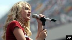 美国电视选秀节目最成功歌星之一Carrie Underwood