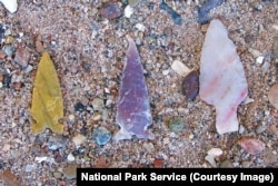 Ancient stone projectile points found at Petrified Forest National Park