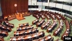 香港立法會(美國之音湯惠芸攝)