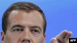 Tổng thống Nga Dmitry Medvedev