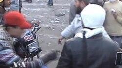 Участники протестов в Египте