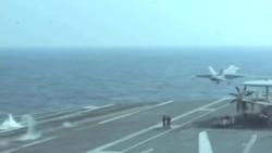 美轟炸機未理會中國新規定 中國軍方稱全程監視
