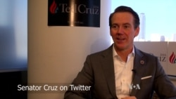 VOA Talks to the Cruz Campaign about Tweeting