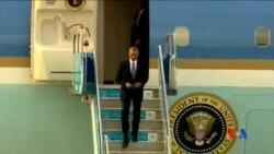 2015-11-15 美國之音視頻新聞: 奧巴馬抵達土耳其 巴黎恐襲成G20峰會主題