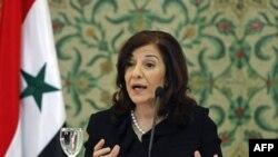 Prezident Bashar al-Assadning maslahatchisi Butayna Shabaan ham qora ro'yxatga tushdi